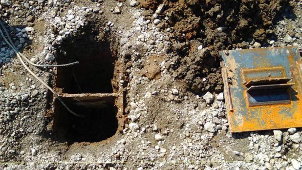 建設現場で用いられる地盤沈下防止釘