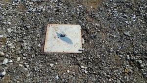地盤沈下防止釘のふた