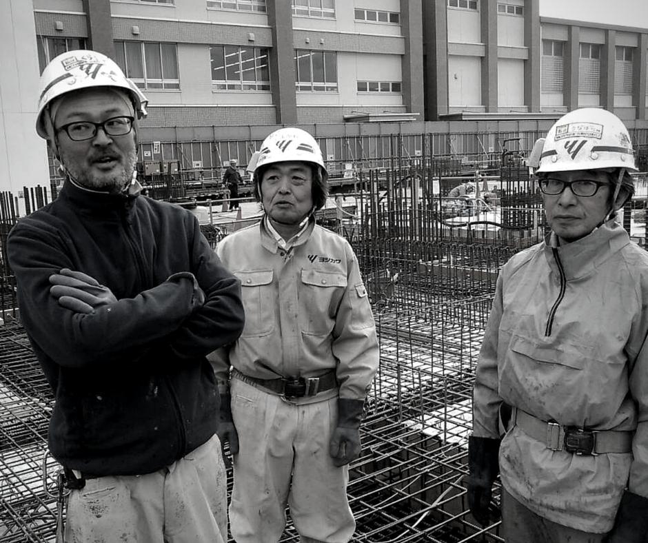 ヒトの安全なご利用を達成するインフラこそ、施工の目的